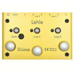 Lehle D-Loop Stereo Effects Looper/Switcher