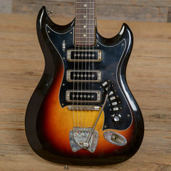 Hagstrom Model III Sunburst 1960s (s286)
