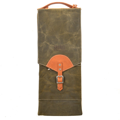 Tackle by McPherson Waxed Compact Stick Bag Green