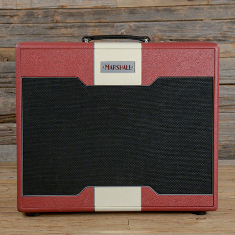 Marshall Astoria Custom 30W Hand-Wired Single Channel 1x12 Combo Red w/Footswitch USED