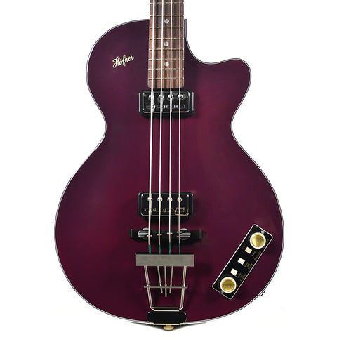 Hofner Gold Label Club Bass Limited Edition Purple