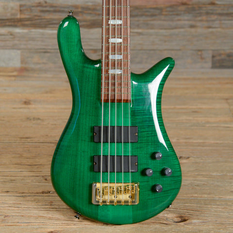 Spector Euro 5-String Green USED (s253)