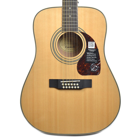 Epiphone DR-212 Dreadnought 12-String Acoustic Natural