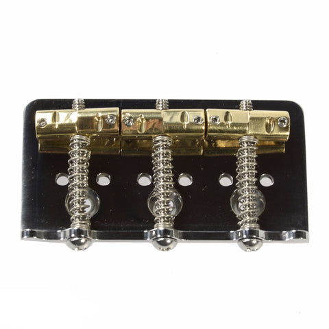 Callaham American Standard Hardtail Bridge w/3 Enhanced Compensated Brass for Bigsby