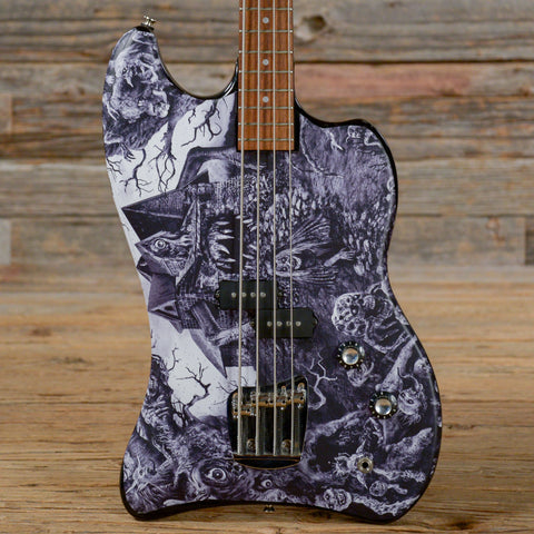 DeArmond Jet-Star Special Bass Zombie Graphics USED (s313)