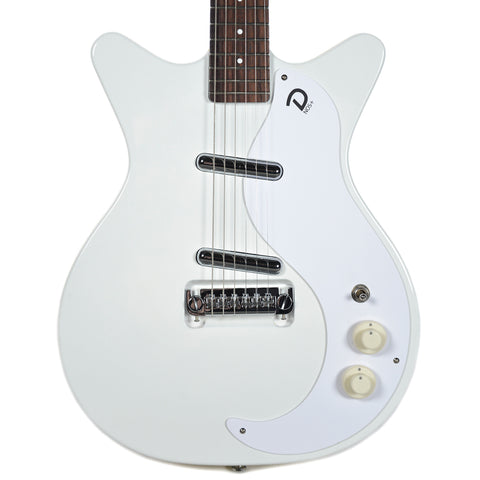 Danelectro '59M NOS Plus Double Cutaway Outa-Sight White