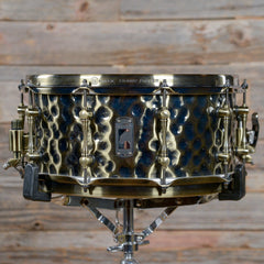 Mapex 6.5x14 Black Panther Sledgehammer Hammered Brass Snare Drum USED