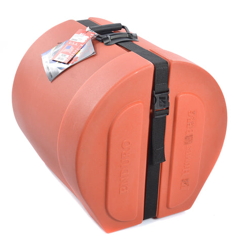 Humes & Berg 14x14 Enduro Floor Tom Case w/Foam & Divider Orange
