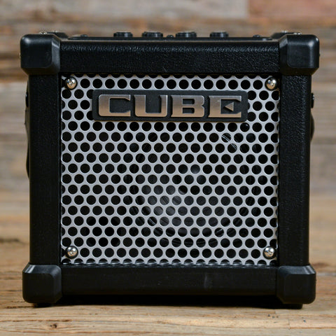 Roland Micro Cube GX Battery Powered Guitar Amplifier w/i-Cube Link USED