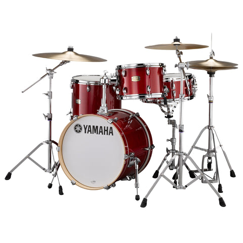 Yamaha Stage Custom Birch Bebop 12/14/18 3pc Kit Cranberry Red