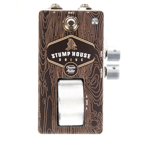 Classic Audio Effects Stumphouse Medium Gain Overdrive Roller Pedal