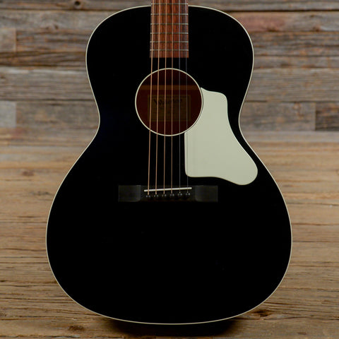 Waterloo WL-14 X Acoustic Black w/X-Bracing, Truss Rod, & Hardshell Case USED