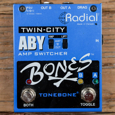 Radial Bones Twin-City ABY Amp Switcher USED