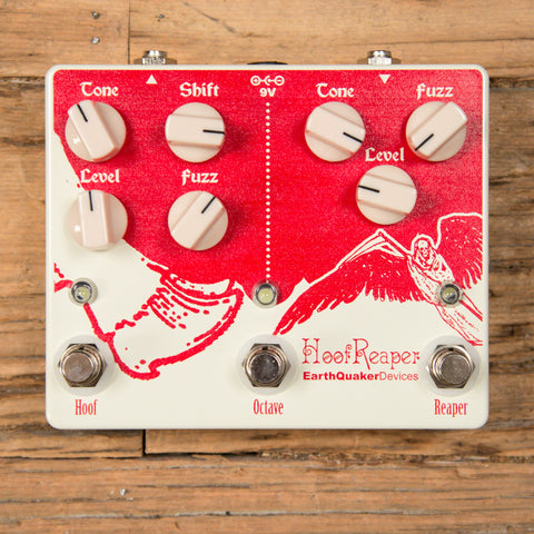 Earthquaker Devices Hoof Reaper Double Fuzz USED
