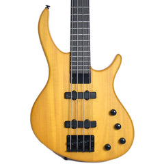 Tobias Toby Deluxe-IV 4-String Bass Translucent Amber Satin