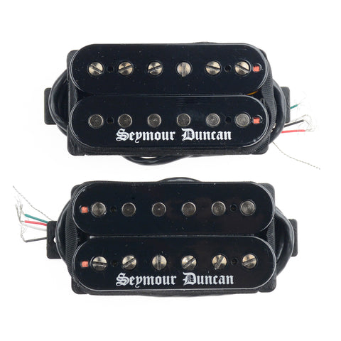 Seymour Duncan Black Winter Humbucker Pickup Set Black