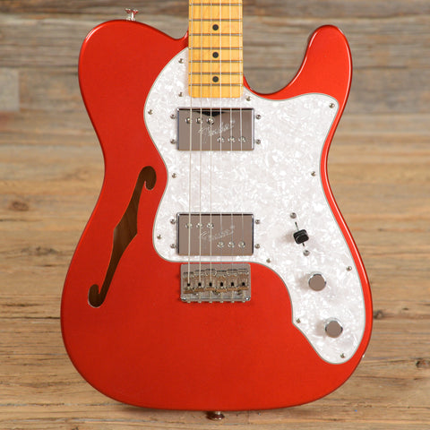 Fender American Vintage '72 Telecaster Thinline Candy Apple Red USED (s830)