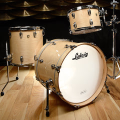Ludwig Classic Maple 12/14/20 3pc Kit Natural Finish