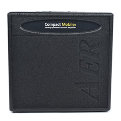 AER Compact Mobile Acoutic Guitar Combo Amp Black