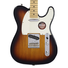 Fender American Standard Telecaster Two Tone Sunburst with Maple Fingerboard