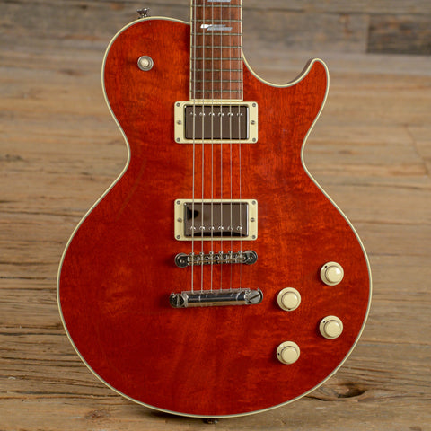Collings City Limits Deluxe Mahogany Top 1959 Faded Crimson w/Lollar Imperials USED (s409)
