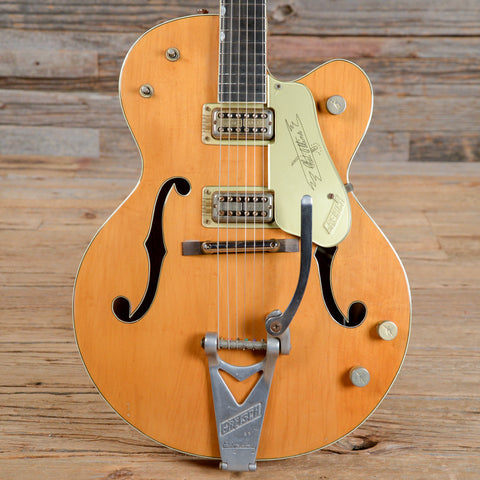 Gretsch 6120 Chet Atkins Hollowbody Transparent Orange 1961 (s309)
