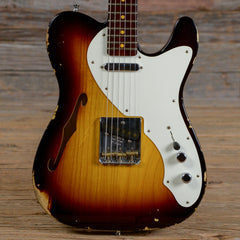 Fender Custom Shop Limited Edition Telecaster Thinline Sunburst w/Rosewood Neck 2016 (s565)