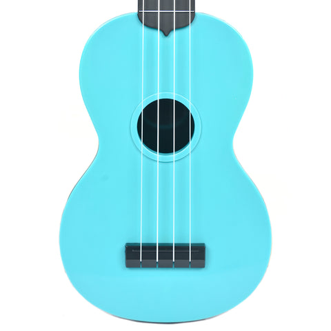 Makala Waterman Composite Soprano Ukulele Solid Blue