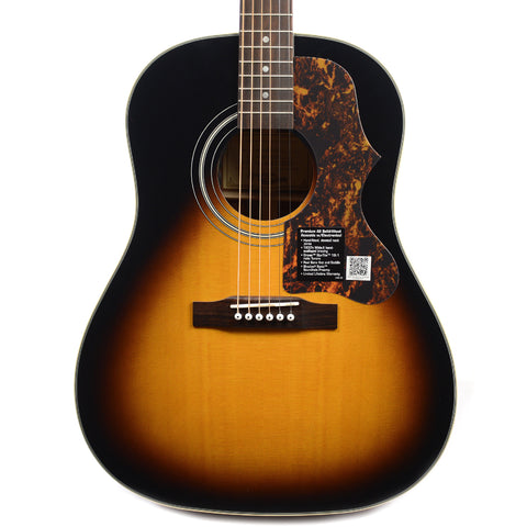Epiphone Masterbilt J-45ME Sloped Shoulder Acoustic-Electric Vintage Sunburst