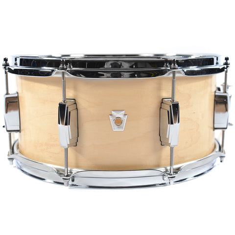 Ludwig 6.5x14 Club Date Snare Drum Natural Satin