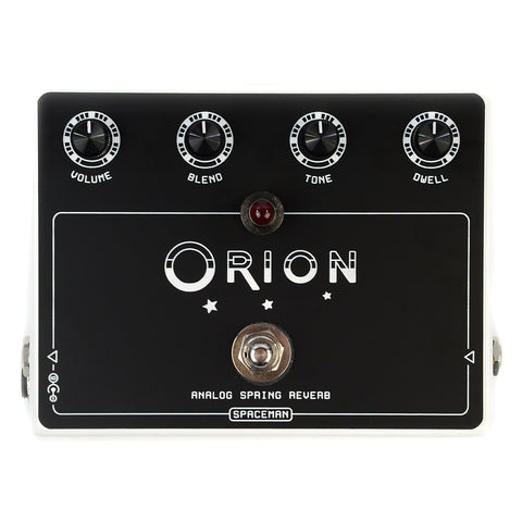 Spaceman Orion Analog Spring Reverb Pedal White Edition