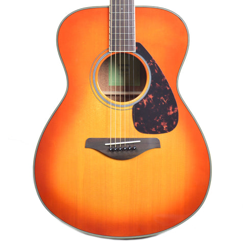 Yamaha FS820AB Small Body Folk Acoustic Autumn Burst