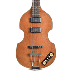 Hofner 500/1 1962 Violin Bass Madrone Burl Limited Edition (Serial #R04011)