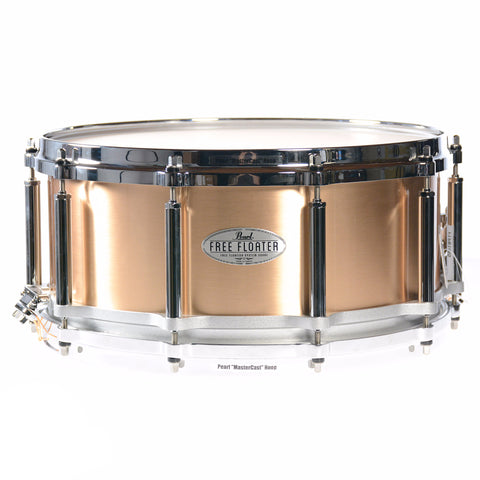 Pearl 6.5x14 Task-Specific Free Floating 1.2mm Phosphor Bronze Snare Drum