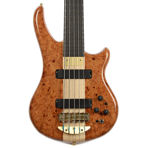 Alembic Essence 5 Amboyna Burl Top Mahogany Core/Back (Serial #K14552)