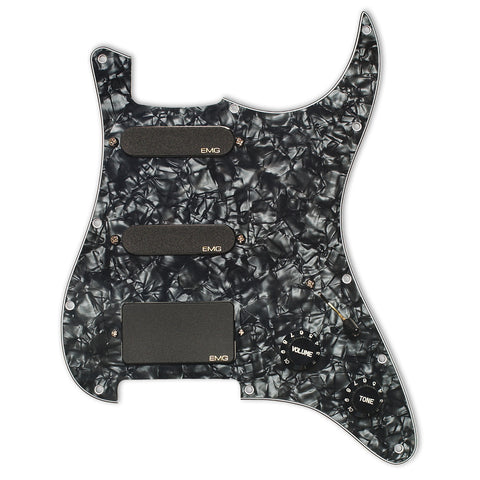 EMG Steve Lukather SLV/SLV/85 Pro Series Pre-Wired Pickguard Black