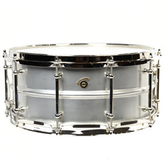 Joyful Noise 6.5x14 Luminary Aluminum Clear Shell Snare Drum