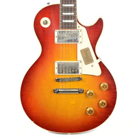 Gibson Custom Shop True Historic 1958 Les Paul Reissue Murphy Aged Vintage Cherry Sunburst (Serial #86270)