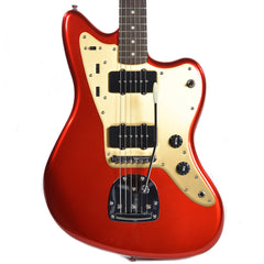 Squier Deluxe Jazzmaster TR RW Candy Apple Red