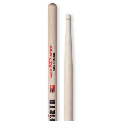 Vic Firth SD4 American Custom Combo Wood Tip Drumsticks