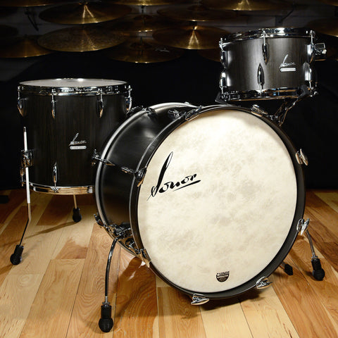 Sonor Vintage Series 13/16/22 3pc Kit Vintage Onyx