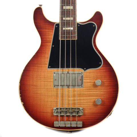 Rock N Roll Relics Thunders Bass AAA Flame Maple Top Sunburst