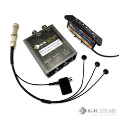 K&K Double Helix Pickup & Pure Mini Combination System for Acoustic Guitars