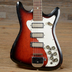 Kay 328 Solidbody Red Burst 1960s **AS IS** - KAY32860S