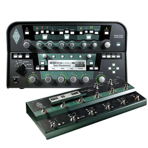 Kemper Amps Profiler Power Head and Remote Black