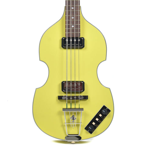 Hofner Gold Label Berlin 1962 Reissue 500/1 Violin Bass Yellow