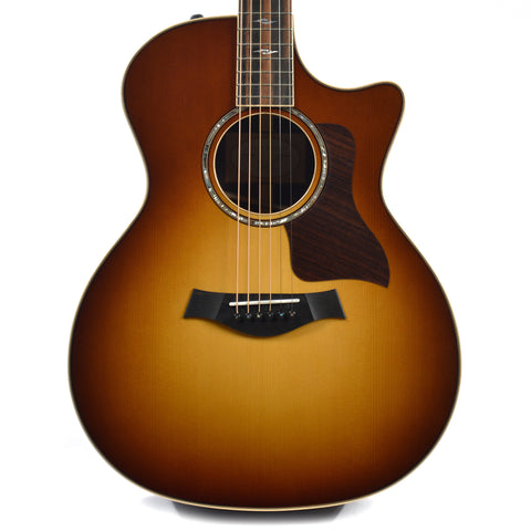 Taylor 814ce Grand Auditorium Sitka/Indian Rosewood Tobacco Sunburst ES2 w/Deluxe Hardshell Case