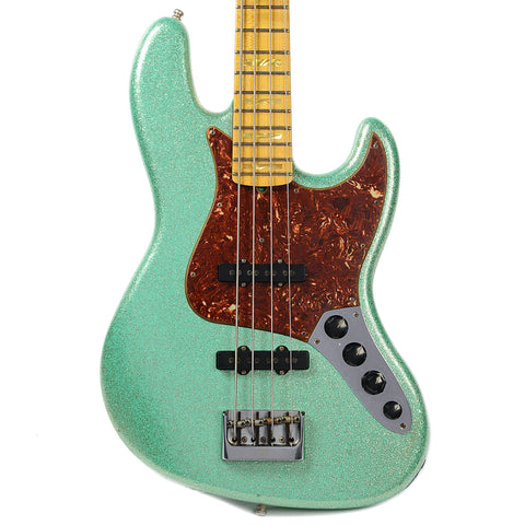 Fender CS Custom Classic Jazz Bass Journeyman Relic Seafoam Green Sparkle