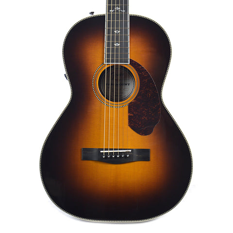 Fender Paramount PM-2 Deluxe Parlor Sitka Spruce/Indian Rosewood Acoustic-Electric Sunburst w/Hardshell Case Floor Model