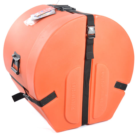 Humes & Berg 14x20 Enduro Bass Drum Case w/Foam Orange